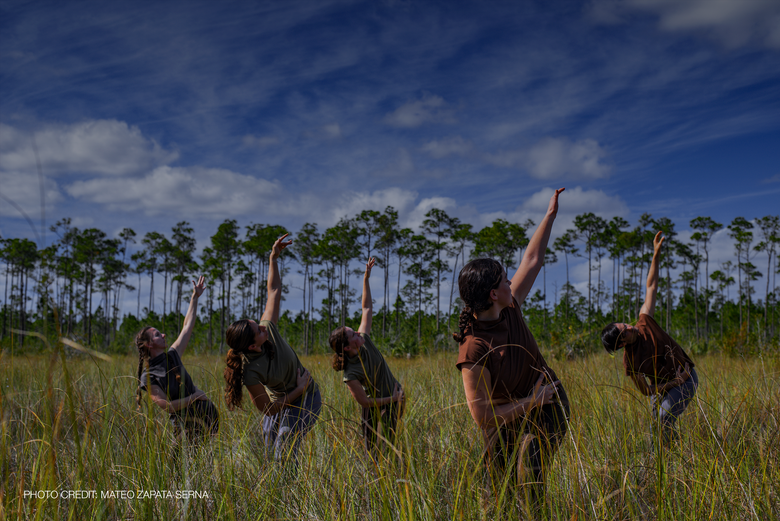 Dancers in the Everglades, Photo Credit: Mateo Zapata Serna